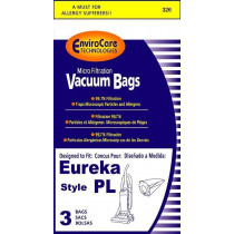 Eureka Type PL Replacement Micro-Lined Bags