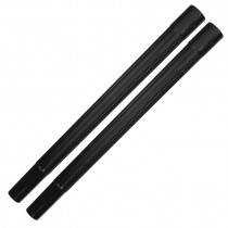 Central Vacuum Friction-Fit Plastic Extension Wands 2-Pack