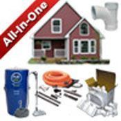 Shop complete all-in-one central vacuum system packages