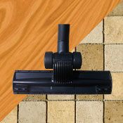 Shop Floor Brushes for Central Vacuums